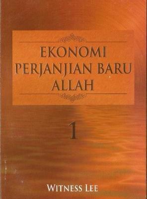Ekonomi Perjanjian Baru Allah 1