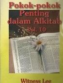 POKOK-POKOK PENTING DALAM ALKITAB 10