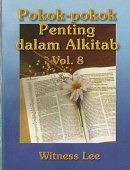 POKOK-POKOK PENTING DALAM ALKITAB 8