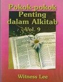 POKOK-POKOK PENTING DALAM ALKITAB 9