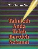 TAHUKAH ANDA TELAH BEROLEH SELAMAT